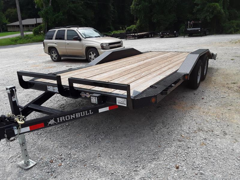 "2018 102"" X 18' Iron Bull Equipment Trailer W/ 2 5200 Lb Axles"
