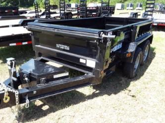 "2018 Iron Bull 60"" x 10' Dump Trailer 2-3500 lb Axles"