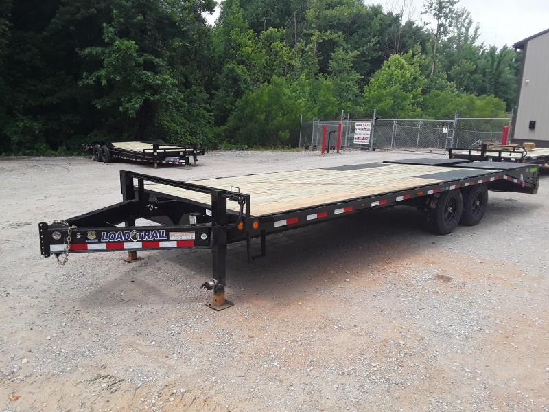 "2019 Load Trail 102"" X 24'  Pintle Equipment Trailer W 2 7K Axles"