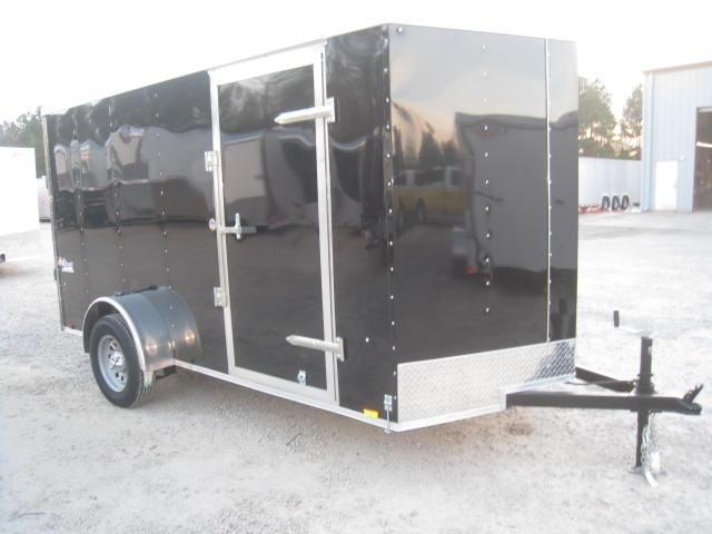 2018 Pace American OB6X12SI2 6X12 VNOSE Enclosed Cargo Trailer