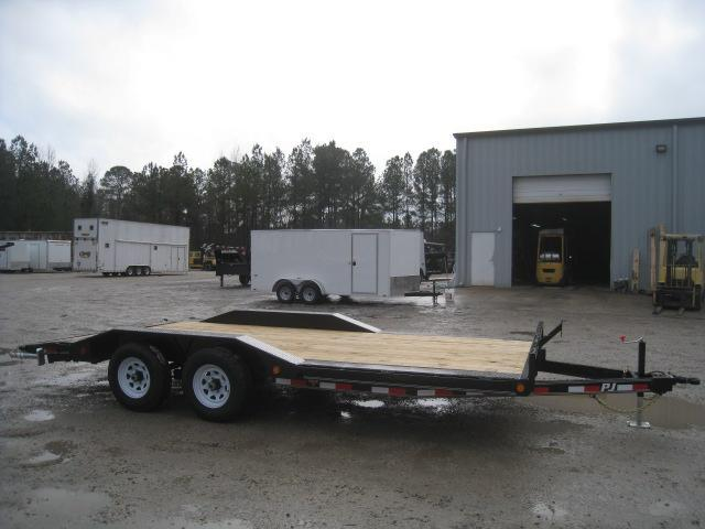 2019 PJ Trailers B5 18' Buggy Hauler Car / Racing Trailer