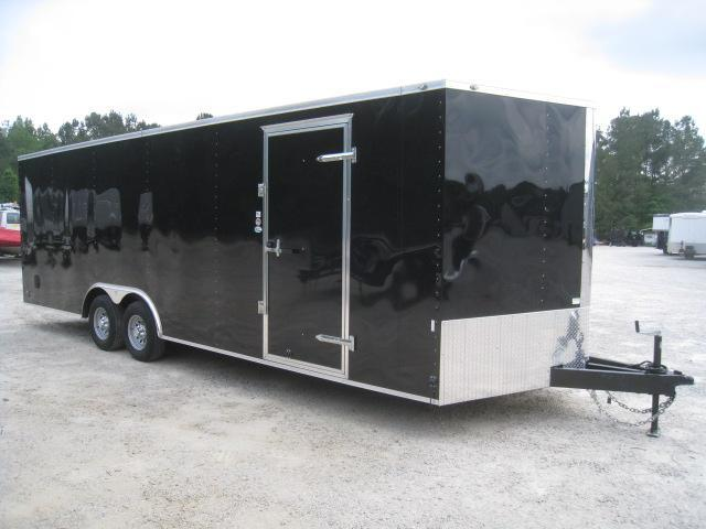 2020 Continental Cargo Sunshine 24' Vnose Car / Racing Trailer in Black