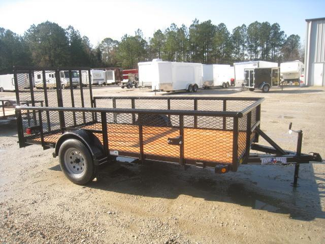 """2020 Texas Bragg Trailers 6x12 Utility Trailer with 24"""" Expanded Metal Sides"""