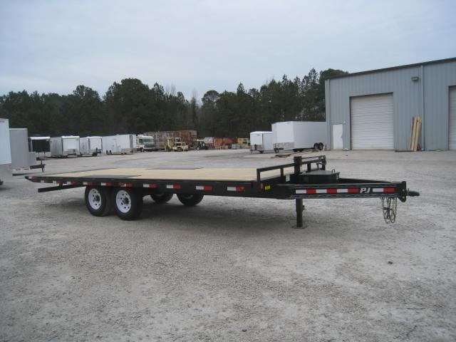 2018 PJ Trailers T8 22' Tilt  Equipment Trailer