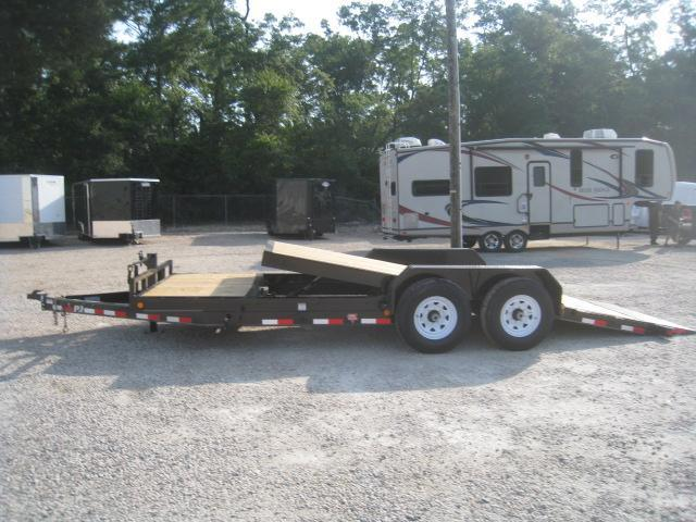 2019 PJ Trailers T6 20' Tilt Bed Equipment Trailer with 7k Axles