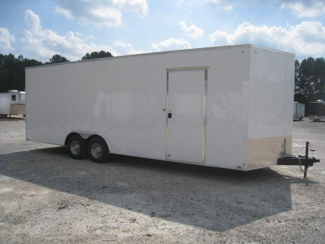 "2019 Pace American Journey 8.5x24 with 7'6"" Inside Height Car / Racing Trailer"
