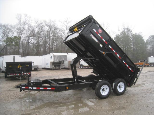 "2019 PJ Trailers DR 12' X 83"" 36"" High Side Dump Trailer"