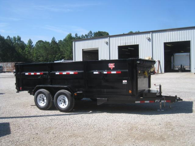 "2019 PJ Trailers DC 16'X83"" Dump Trailer with 36"" High Sides"