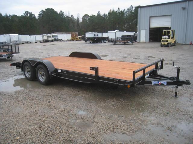 2018 Texas Bragg Trailers 18' HEAVY CAR HAULER