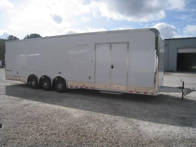 2019 Cargo Mate Aluminum Eliminator 32 Car / Racing Trailer