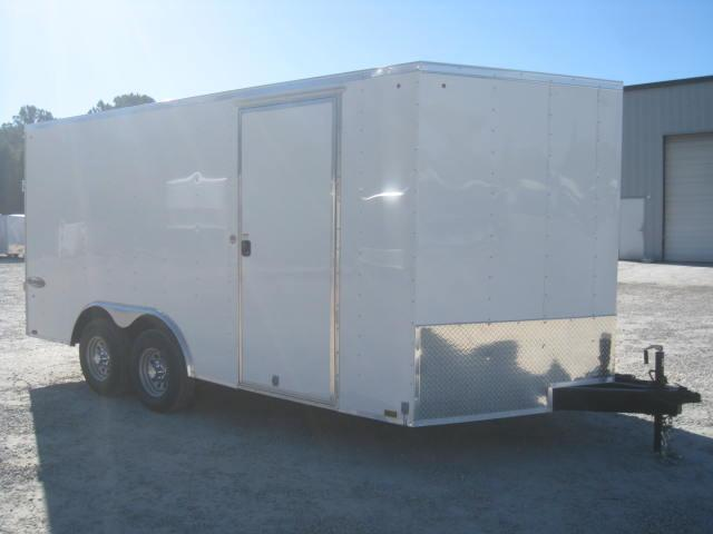 2018 Look Trailers Element 8.5x16 Enclosed Cargo Trailer with 5200lb Axles