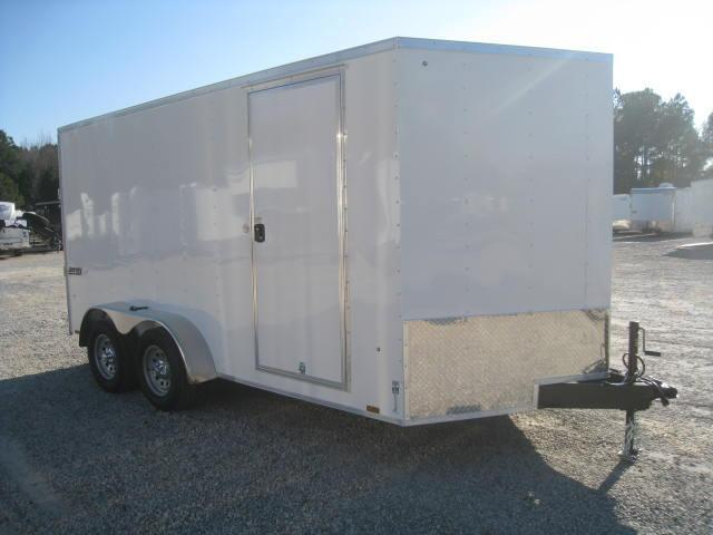 2018 Pace American JV7X14TE2 7X14 Vnose Enclosed Cargo Trailer