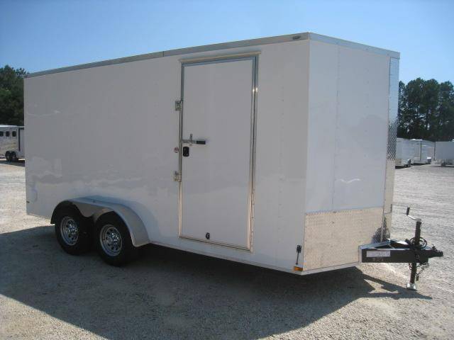 2019 Lark 7 X 16 Vnose Enclosed Cargo Trailer
