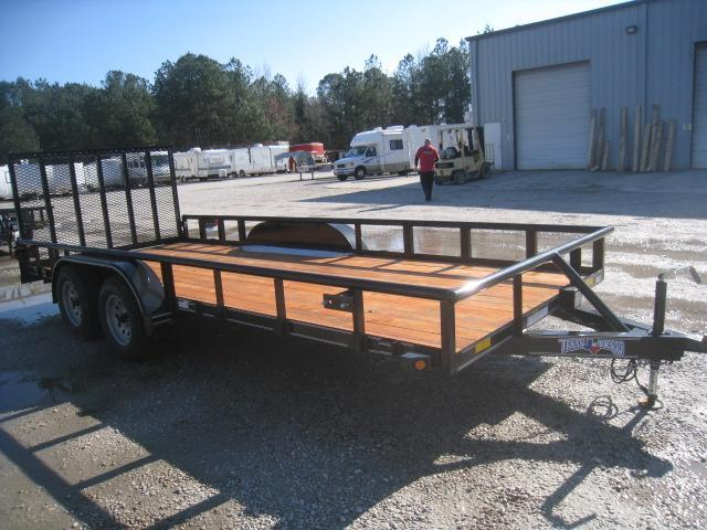 2020 Texas Bragg Trailers 18' Utility Trailer with Extras