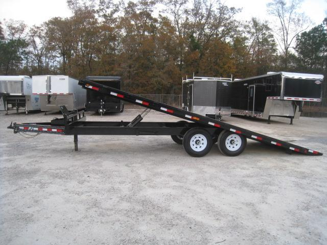 2019 PJ Trailers T8 22' Tilt Bed Equipment Trailer