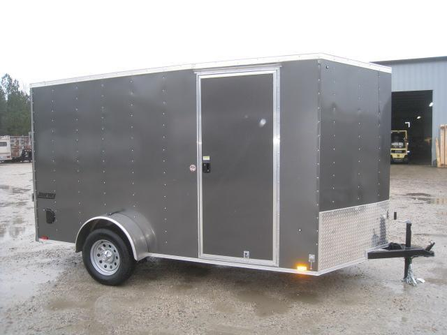 "2019 Pace American Journey 6 x 12 Vnose Enclosed Cargo Trailer with 6' 6"" Inside Height"