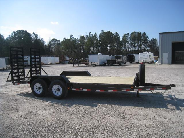 "2019 PJ Trailers CC 6"" Channel Equipment Trailer 16 + 2"