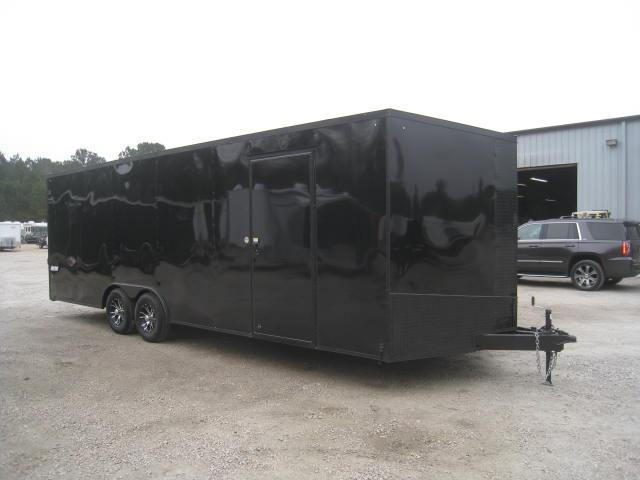 2019 Pace American Journey 8.5x24 Car / Racing Trailer with Blackout Package