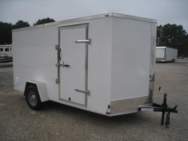 2020 Lark Economy 6 x 12 Vnose Enclosed Cargo Trailer