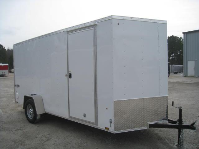 "2018 Look Trailers Element 6x14 Vnose Enclosed Cargo Trailer with 6'6"" Inside"