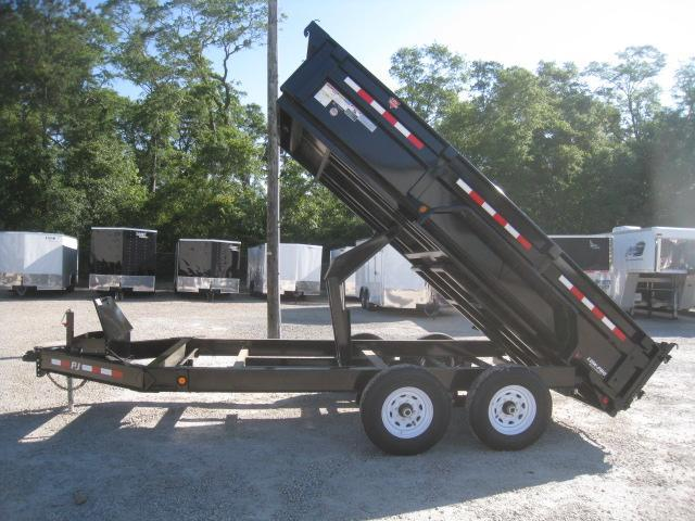 2020 PJ Trailers DL 83 x 14 Low Pro Dump Trailer