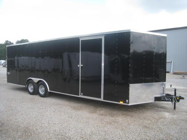2018 Look Element 8.5 X 24 Vnose Enclosed Cargo Trailer