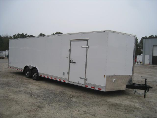 2019 Continental Cargo Sunshine 28 Vnose Car / Racing Trailer Loaded
