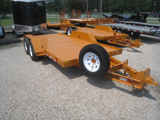2017 Hudson Brothers HD 14(5) Ton 16' Tilt Bed Equipment Trailer
