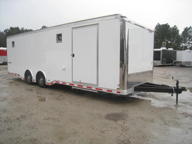 2018 Pace American Shadow 28' Spread Axle Car / Racing Trailer
