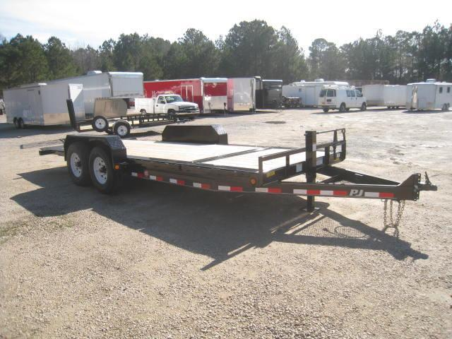 2018 PJ Trailers TJ 20' Tilt Bed Equipment Trailer