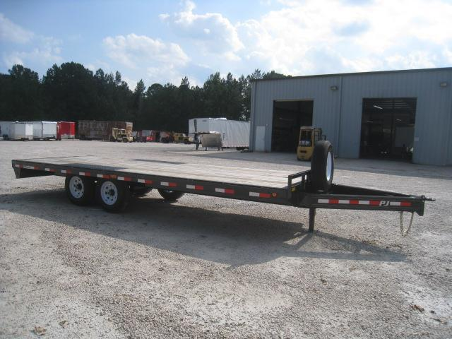 2019 PJ Trailers F8 21' Deckover Equipment Trailer