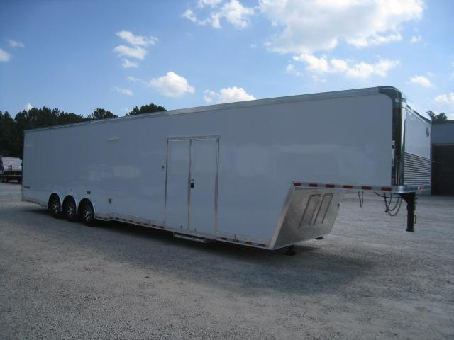 2020 Cargo Mate Eliminator 44' Gooseneck Car / Racing Trailer Loaded