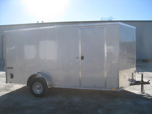 "2019 Pace American Journey 6 x 14 Vnose 6' 6"" Inside Enclosed Cargo Trailer"