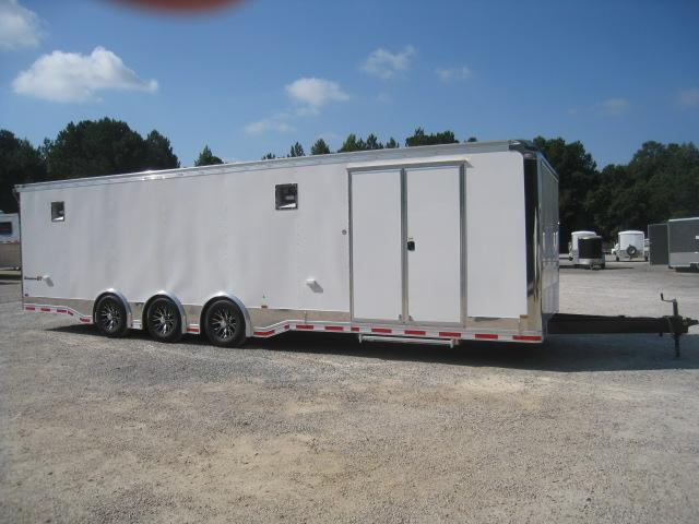 2019 Pace American Shadow 31 Race Trailer