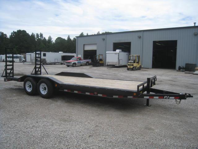 "2018 PJ B6 22"" Superwide Equipment Trailer"