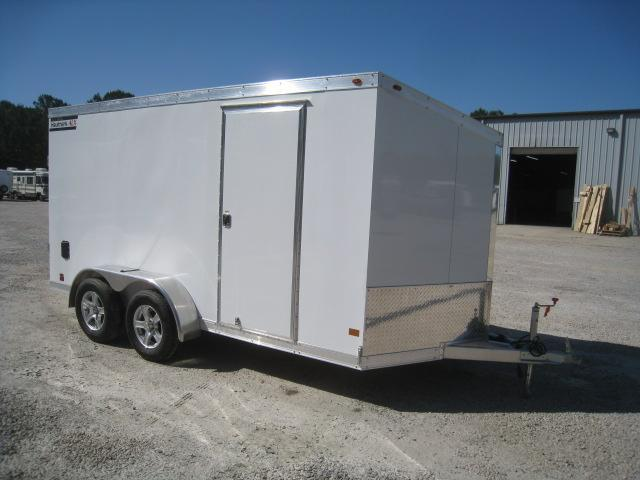 2019 Haulmark Aluminum 7 x 14 Vnose Enclosed Cargo Trailer
