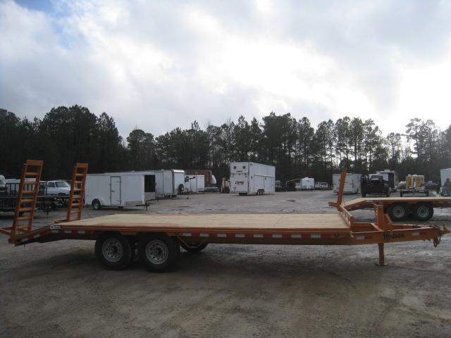 2019 Hudson Brothers HTMBH 6 Ton 21' Deckover Equipment Trailer