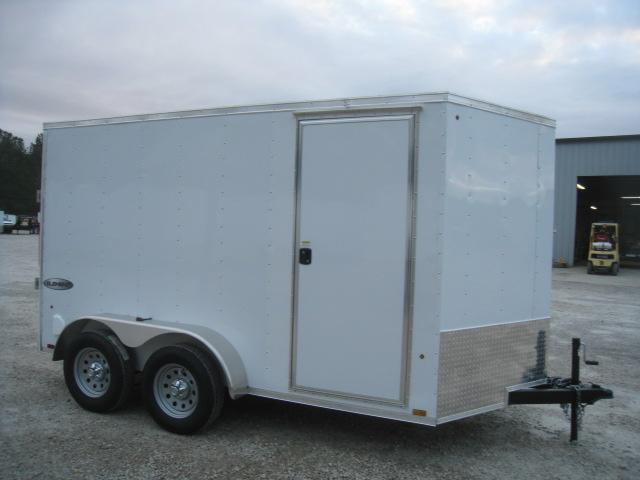 2019 Look Trailers Element 6 x 12 Tandem Axle Vnose Enclosed Cargo Trailer