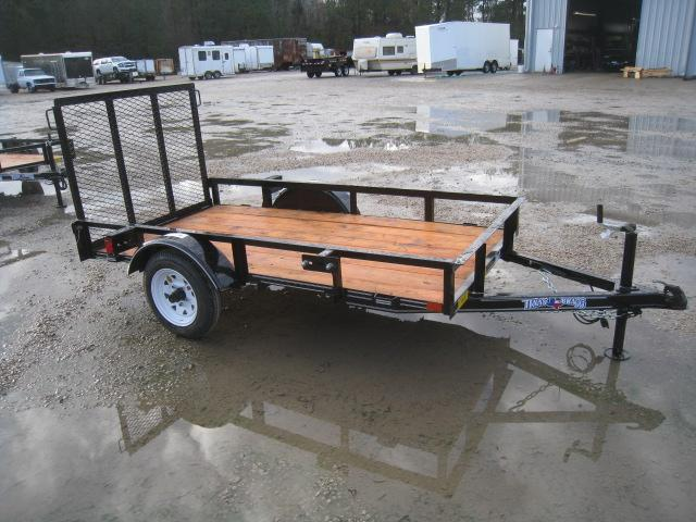 2019 Texas Bragg Trailers 4X8 Little Bragg Utility Trailer