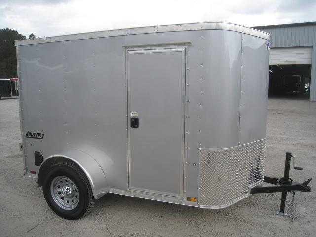 2019 Pace American Journey 5x8 Vnose Enclosed Cargo Trailer with Side Door