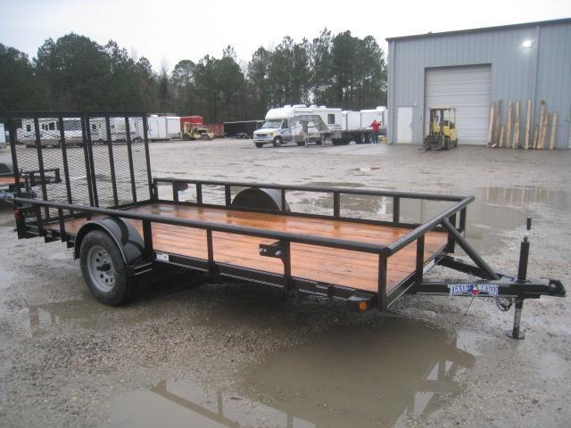 2020 Texas Bragg Trailers 6x14 Utility Trailer with Split Rear Gate