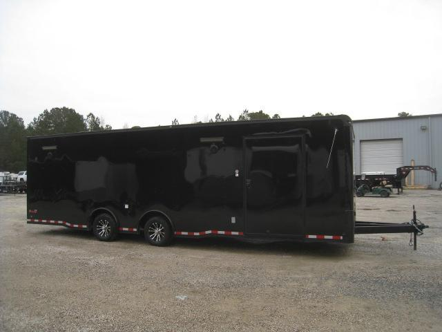 2019 Continental Cargo Sunshine 28 Spread Axle Black Out Car / Racing Trailer