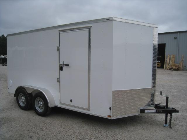2019 Lark 7 X 14 Vnose Enclosed Cargo Trailer