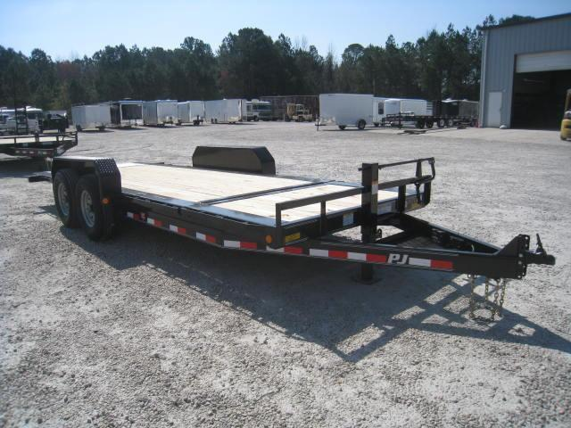 2018 PJ Trailers TJ 16+4 Tilt Bed Equipment Trailer