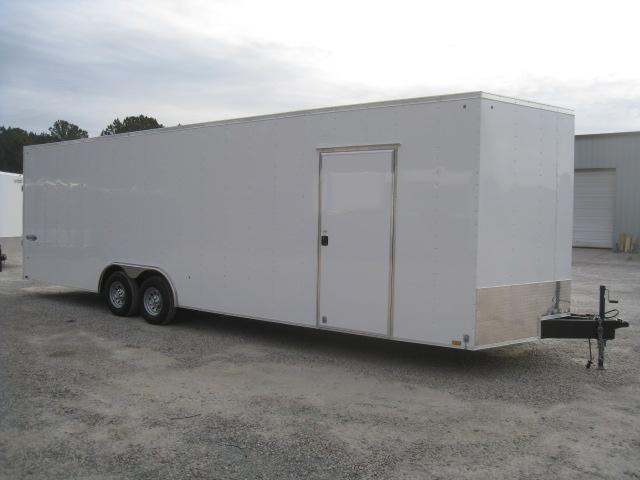 "2019 Look Trailers Element 28 Vnose Car / Racing Trailer with 7'6"" Inside Height"