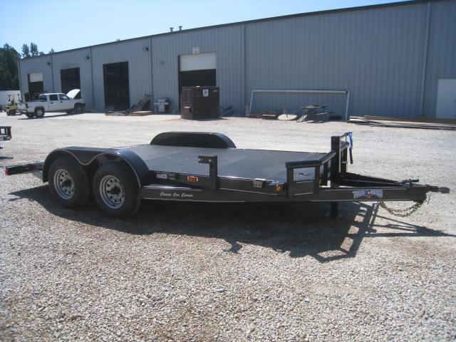 2017 Texas Bragg 82 X 16 10K Classic Open Car Hauler
