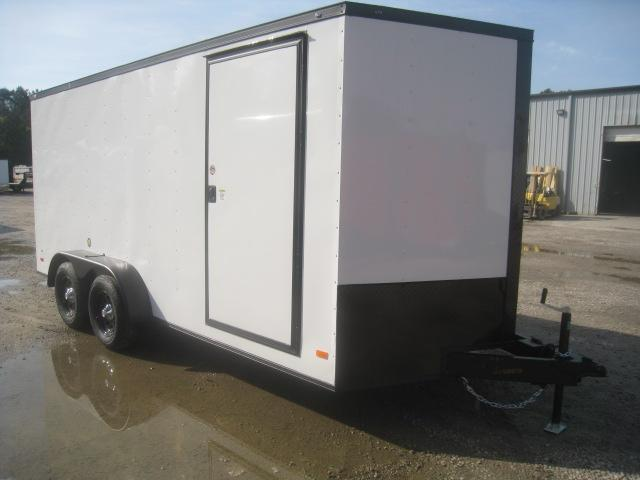 2020 Covered Wagon Trailers Gold Series 7 x 16 Vnose Enclosed Cargo Trailer