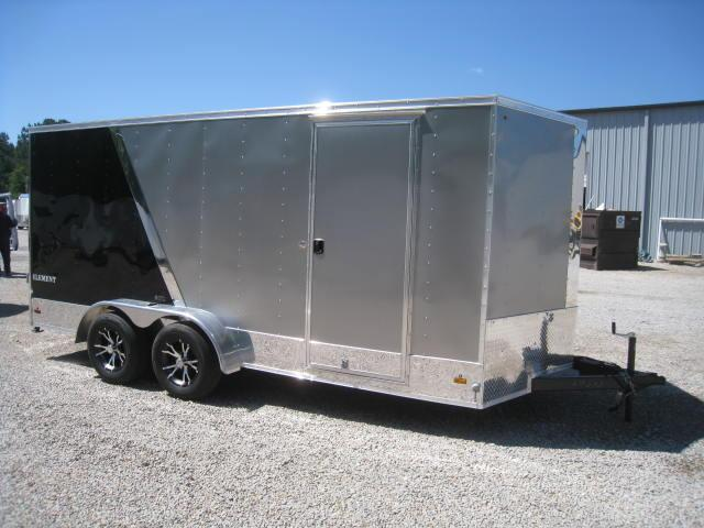 2016 Look Element 7 X 16 Vnose Enclosed Cargo Trailer