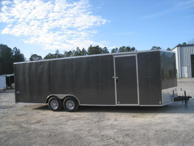 2020 Look Trailers Element 24' Charcoal Car / Racing Trailer