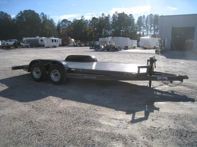 2019 Texas Bragg Trailers 18 Classic Car Carrier with Big Axles